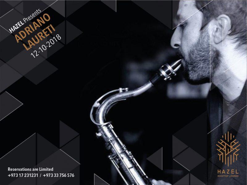 Hazel Rooftop Lounge - Adriano Laureti Live Act