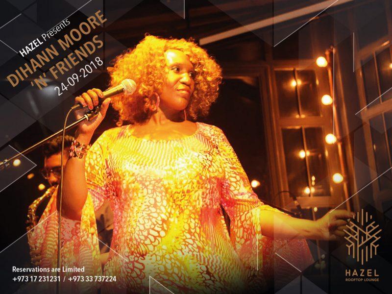 Hazel Rooftop Lounge- Live Act by Dihann Moore