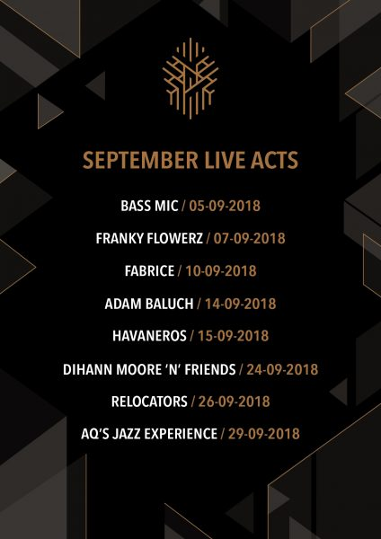 Hazel Rooftop Lounge September Live Acts