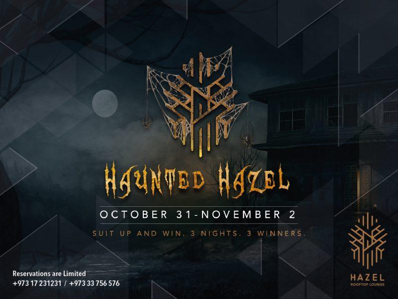 Hazel Rooftop Lounge - Halloween celebration