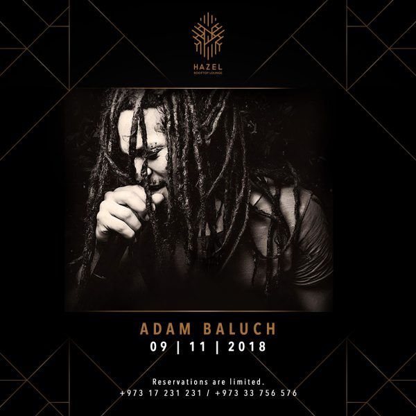 Hazel Rooftop Lounge - Adam Baluch Live Act
