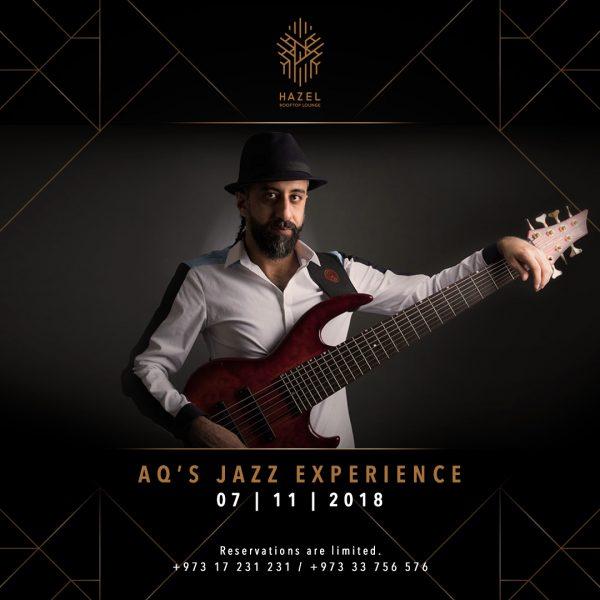 Hazel Rooftop Lounge - Ahmed Qassim Live Act