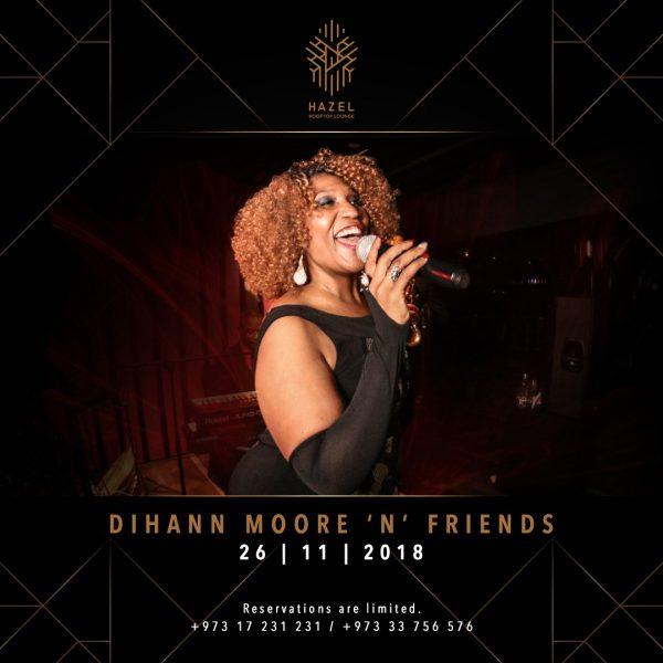 Hazel Rooftop Lounge - Dihann Moore 'N' Friends Live Act