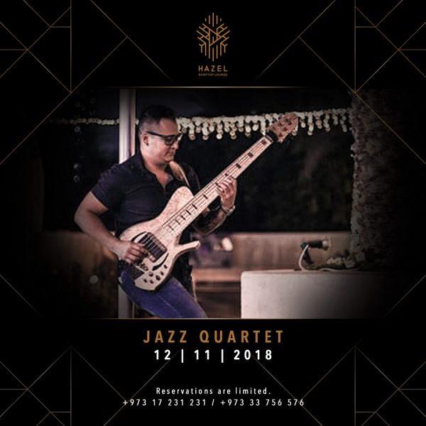 Hazel Rooftop Lounge - Jazz Quartet Live Act