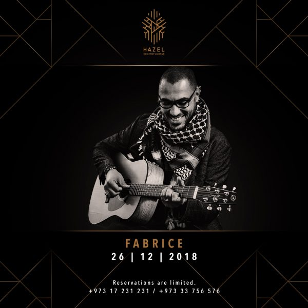 Hazel Rooftop Lounge - Fabrice Live Act