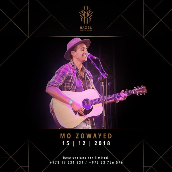 Hazel Rooftop Lounge - Mo Zowayed Live Act