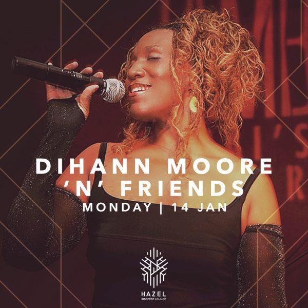 Hazel Rooftop Lounge - Dihann Moore Live Act