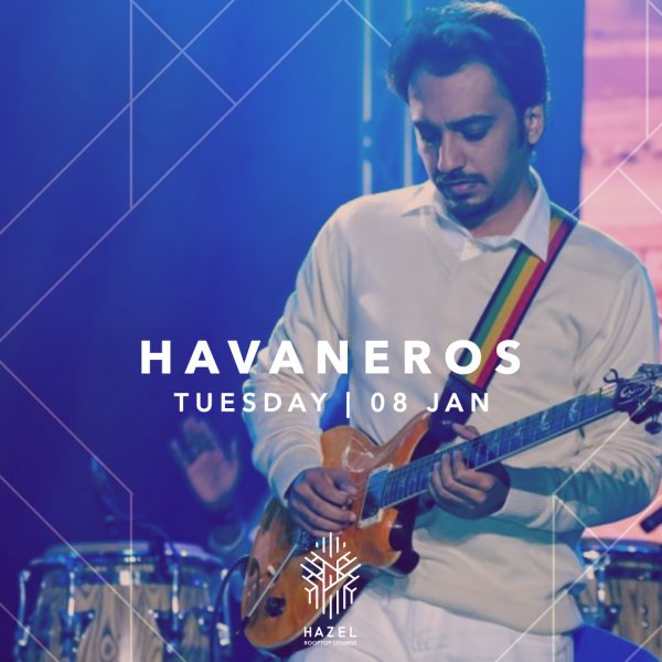 Hazel Rooftop Lounge- Havaneros Live Act
