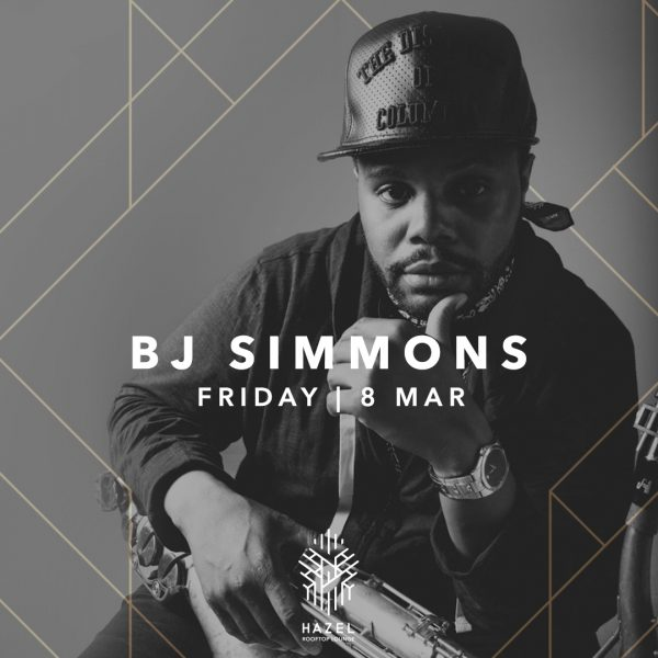 Hazel Rooftop Lounge - BJ Simmons Live Act