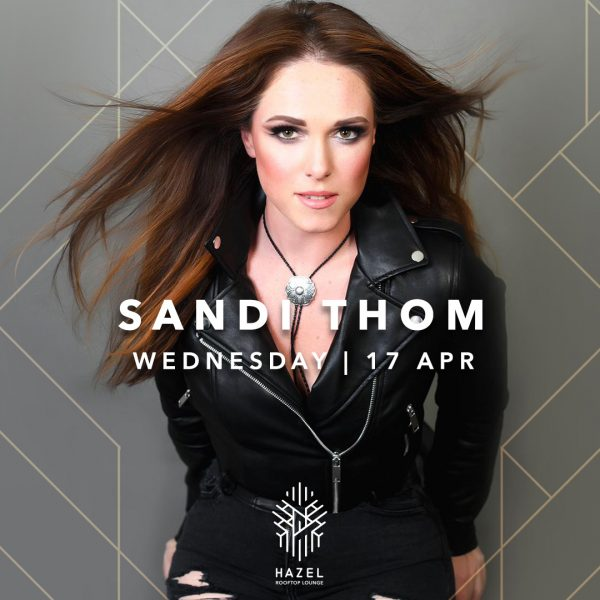 Hazel Rooftop Lounge - Sandi Thom Live Act