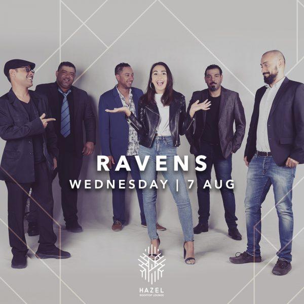 Hazel Rooftop Lounge - Ravens Live Act