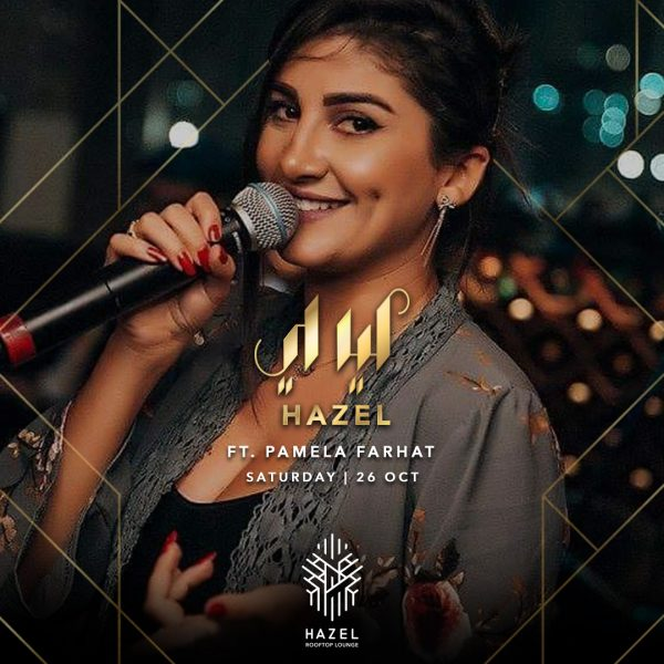 Hazel Rooftop Lounge - Pamela Farhat Live Act
