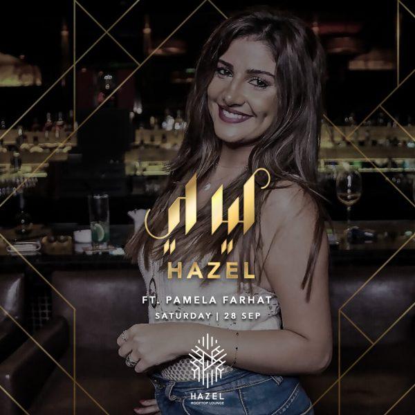 Hazel Rooftop Lounge - Layali Hazel - Pamela Farhat Live Act