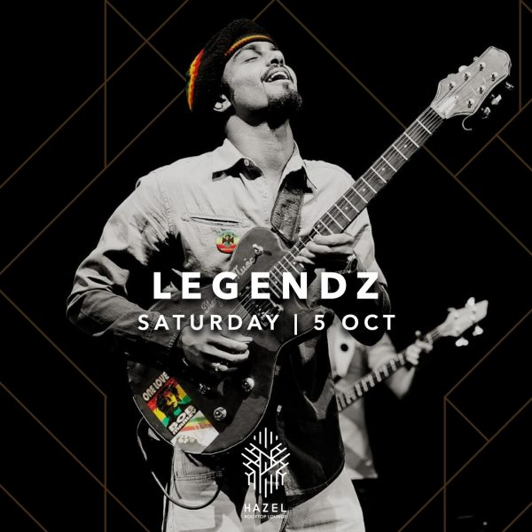 Hazel Rooftop Lounge - Legendz Live Act